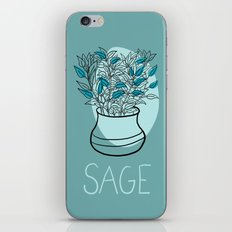 Sage iPhone & iPod Skin