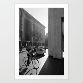 Ride Hard Art Print