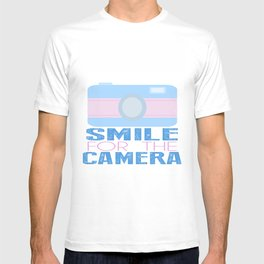 Smile For The Camera; T-shirt