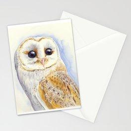 Owl bird Stationery Cards