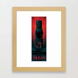 Mulan Framed Art Print
