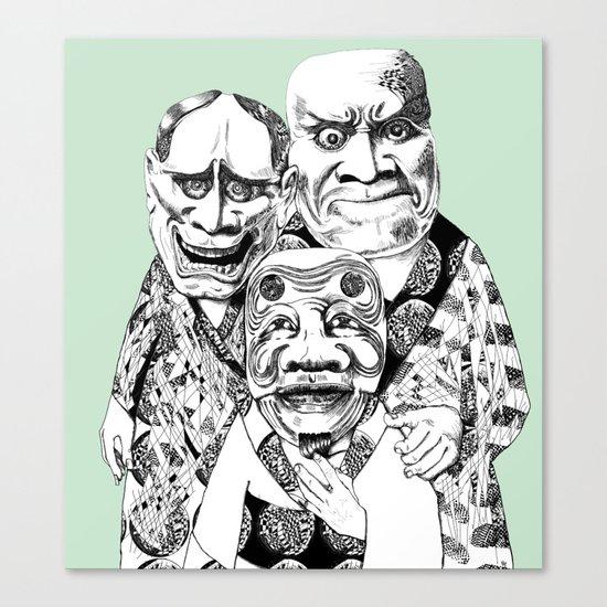 UZUMEN Canvas Print