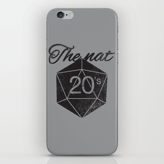 The Nat 20's iPhone & iPod Skin