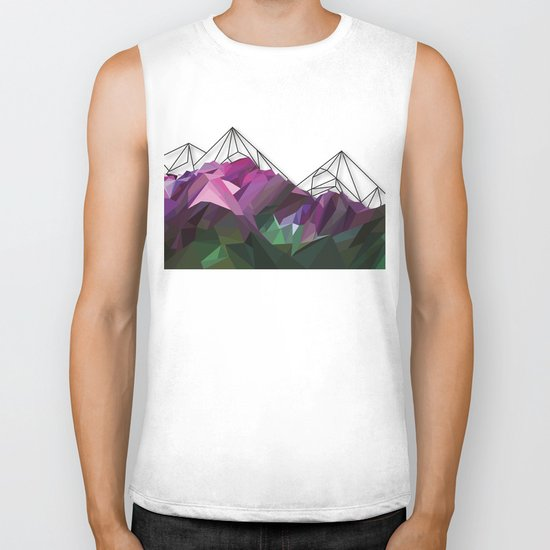 Crystal Mountains Biker Tank