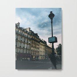 Pont Des Tournelles, Paris Metal Print