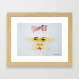 always looking, always learning Framed Art Print