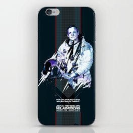 Neil Armstrong Tribute iPhone Skin