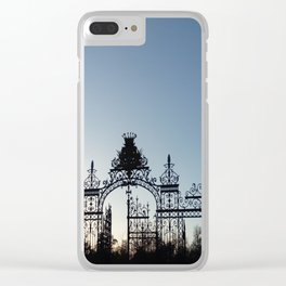 Nature, landscape and twilight 1 Clear iPhone Case