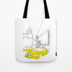 Cross Town Traffic Tote Bag