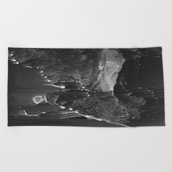 BURNING Beach Towel