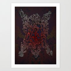 Bear Sinew (Bear Skin companion) Art Print