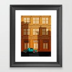 Hey Superhero!! Framed Art Print