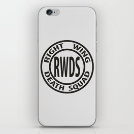 Right Wing Death Squad 3 iPhone Skin