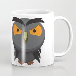 Angry Owl Coffee Mug