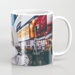 Space At Times Square Coffee Mug