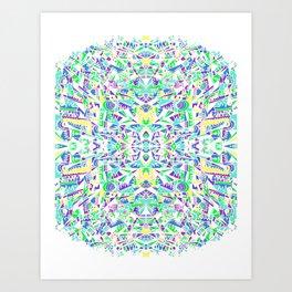 NEO-FRACTLAS Art Print