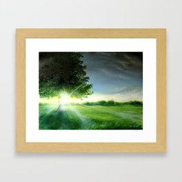 A Lonely tree Framed Art Print