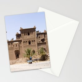 Kasbah in Morocco Stationery Cards