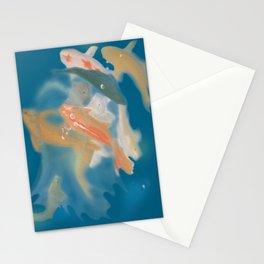 koi {blue} Stationery Cards