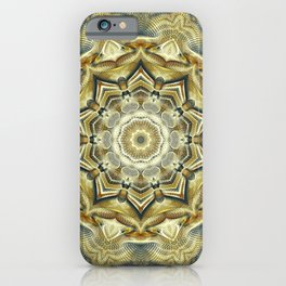 Flower Of Life Mandala (Soft Sunrise) iPhone Case