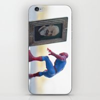 heroes iPhone & iPod Skins featuring heroes by Aureliano Pandolfina Del Vasto