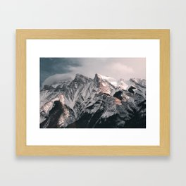 Millenial Mountains Framed Art Print