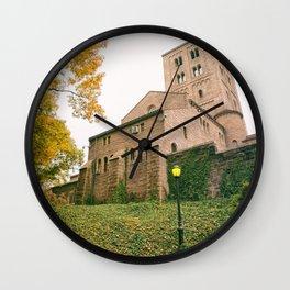 Autumn - The Cloisters - New York City Wall Clock