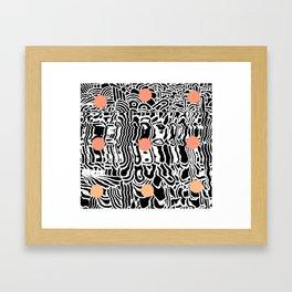 j2 Framed Art Print