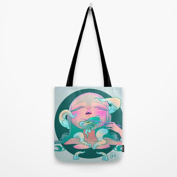 Horror fish Tote Bag
