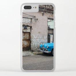 Viva la Revolucion Clear iPhone Case