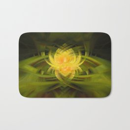 Gold Lotus II Bath Mat