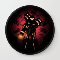 metroid Wall Clocks featuring Metroid by Casa del Kables