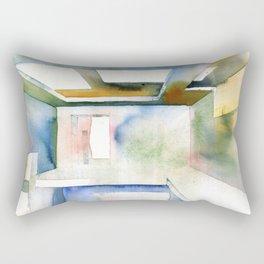 Abstract interior Rectangular Pillow