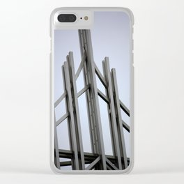 Brussels V Clear iPhone Case