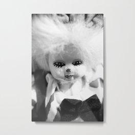 Dolls in Grandma's attic, Photo Metal Print