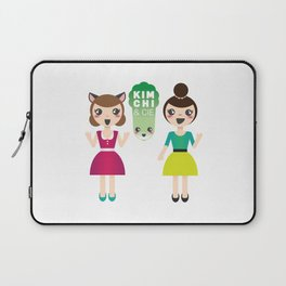 Alexandra et Kim! Laptop Sleeve
