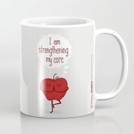 Apple Core Workout Coffee Mug