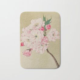 Fukurokuju - God of Longevity Cherry Blossoms Bath Mat