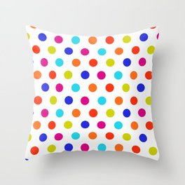 Simply Dots 2 Throw Pillow