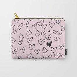 Heart Pattern Carry-All Pouch