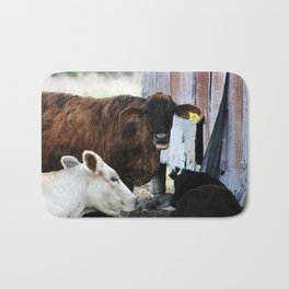 Gossips, the lot of them! Bath Mat