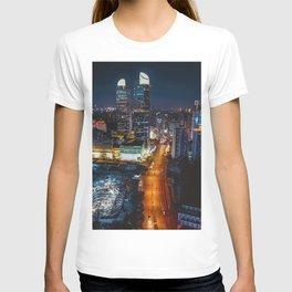 City Lights Downtown (Color) T-shirt