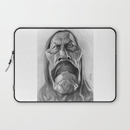 Danny Trejo, caricature. Laptop Sleeve
