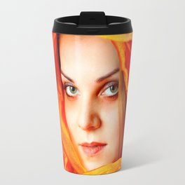 Colour: Red Travel Mug