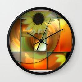Sun Dress Wall Clock
