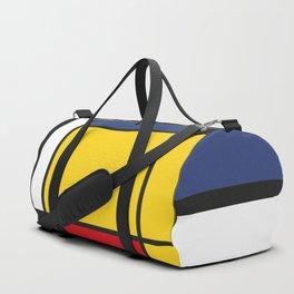Downtown, Tribute to Mondrian Duffle Bag