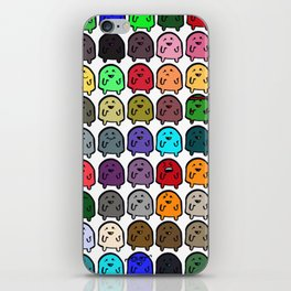 A variety of Snoobs. iPhone Skin