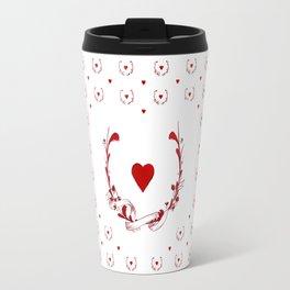 POKER HEART  Travel Mug
