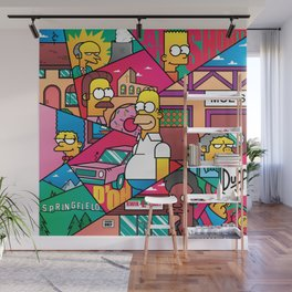 The Simpson Wall Mural