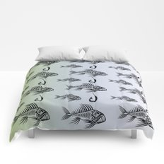 Hook and Fish Comforters